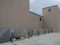Silo de concreto para agregados